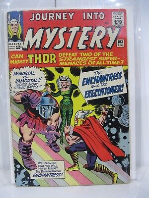 Journey Into Mystery 103 1st Enchantress HIGH GRADE Key Issue Movie MUST HAVE