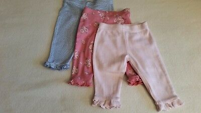 Gorgeous Baby Girls Leggings Set (0-3 Months) - By Next