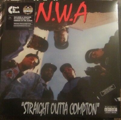 "N.W.A. ""Straight Outta Compton"" LP 180 g Vinyl + Download Ice cube public enemy"