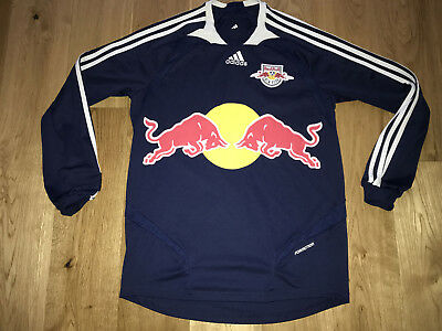 New York Red Bull Football Shirt Jersey Player Issue Formotion Longsleeve USA