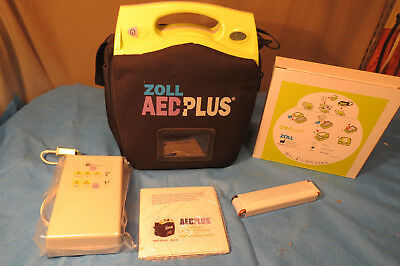 Zoll Aed Plus Defibrillator...new With Accessories
