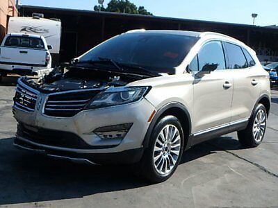 2015 Lincoln MKC AWD 2015 Lincoln MKC AWD Damaged Salvage Only 15K Mi Loaded w Options Perfect Fixer!