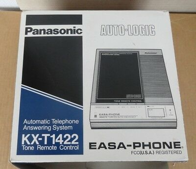 vintage panasonic easa-phone kx-ti422 telephone answering system new in box