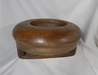 Antique Millinery Wood Hat Block Mold Form