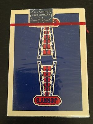 Jerry's Nugget Playing Cards Authentic Vintage【Blue】deck