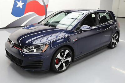 2016 Volkswagen Golf  2016 VOLKSWAGEN GTI S 6-SPEED REAR CAM HTD SEATS 12K  #030300 Texas Direct Auto