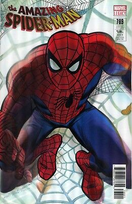 Amazing Spider-Man #789 Marvel Comics Alex Ross John Romita Lenticular Variant