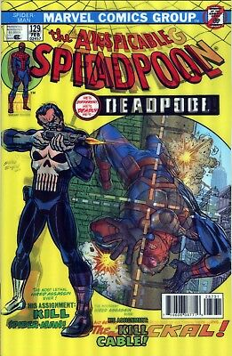 Despicable Deadpool #287 Marvel Amazing Spider-Man #129 Lenticular Variant