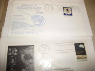 Space Travel FDCs, USA & Germany. 1969-71. Lot of 4.