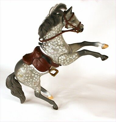 GC Grand Champions gray Sound 'n Action horse Thunder 1997 NOT WORKING