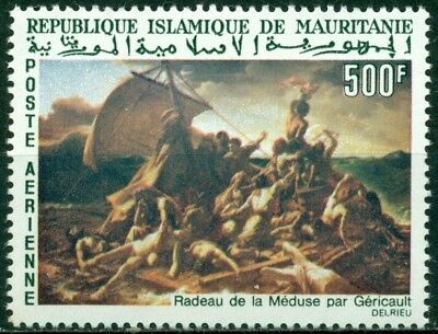 "Mauritania Scott #C58 MNH ""The Raft of Medusa"" Géricault 500fr CV$11+"