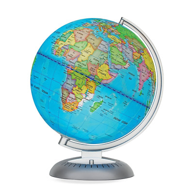 Illuminated World Globe for Kids With Stand,Built in LED for Illuminated Night V