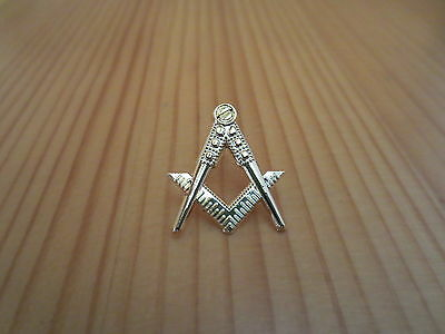 Masonic Lapel Pins Badge Mason Freemason B40 Compass And Square Hollow out