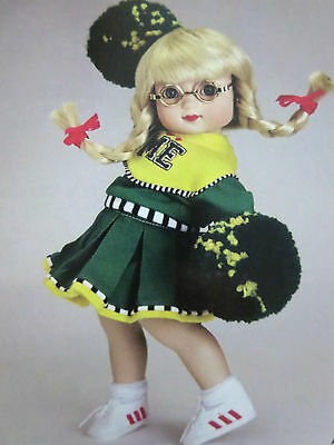 """2003 TONNER 10""""Mary Engelbreit *PEP SQUAD * POM POM's outfit ONLY no DOLL no BOX"""