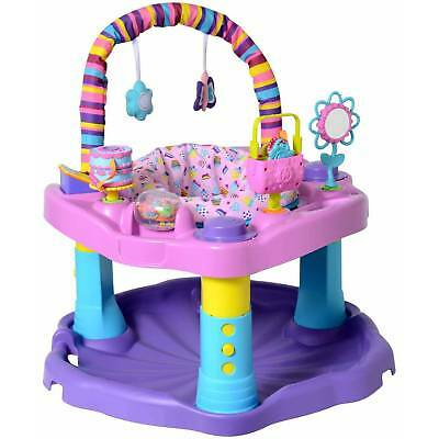 Evenflo Exersaucer Baby Bounce and Learn Activity Center Girl Child Exercise