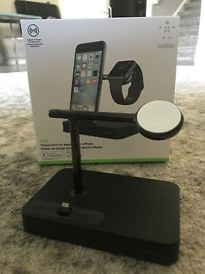 Belkin valet charger dock for iPhone and Apple Watch