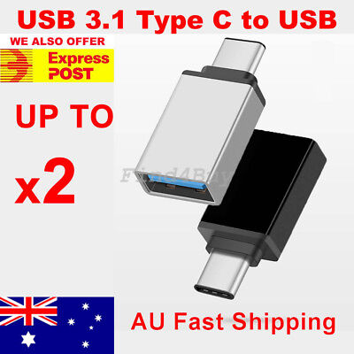 USB 3.1 Type C Male to USB 3.0 A Female Converter USB-C Data Cable OTG Adapter