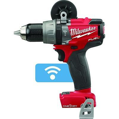 "New MILWAUKEE 2706-20 M18 BRUSHLESS 1/2"" Hammer Drill/Driver ONE-KEY Tool Only"