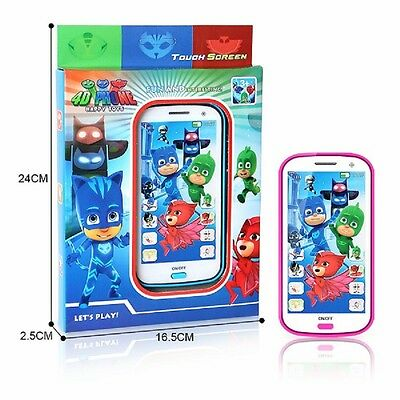Pj Masks Characters Catboy Owlette Gekko Kids smart phone with sound and light