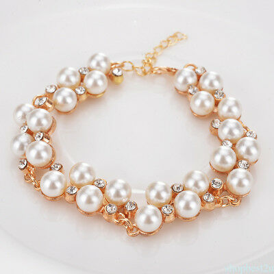 Gold Color Retro Fashion Jewelry Charm Bracelet for Women  Exquisite Gift ZHC4