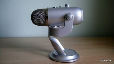 Blue Yeti Microphone - High Quality USB Recording Mic - Silver