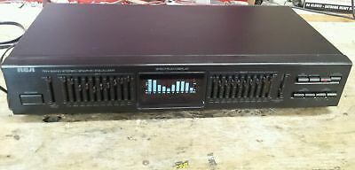 Vintage RCA 10 Ten Band Stereo Spectrum  Graphic Equalizer Model 31-5001