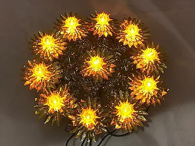 Noma Christmas Tree Star Topper Lighted Lit Works! Vintage And Very Nice