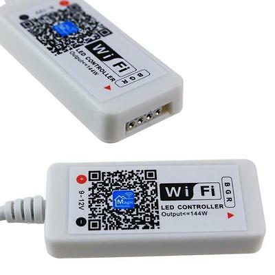 Mini Wifi LED RGB Controller DC5-28V 144W pour 5050/3528/5630 LED Strip Light EP