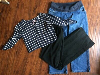 Maternity Clothes Lot Size Small (pants Size 2) Gap, Mom's The Word,Liz Lange