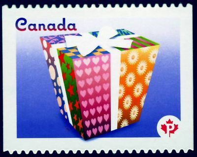ma. CELEBRATION  DIE CUT to shape from booklet Canada 2011 #2435i MNH