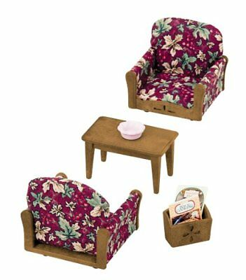 New Sylvanian Families Calico Critters ARM CHAIR SET Epoch Japan free shipping