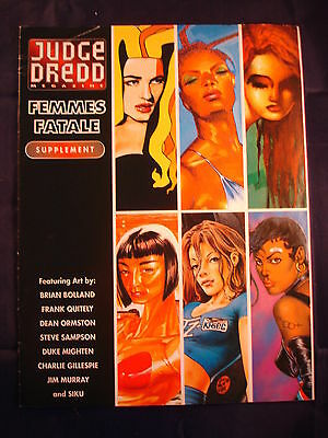 Judge Dredd Supplement - Femmes Fatale