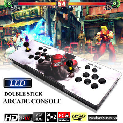 Pandora Box 5S 999 In 1 Double Stick Arcade Console Joystick Video Game Gifts
