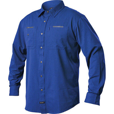 Blackhawk Tac Flow Long Sleeve Shirt Admiral Blue 2XL BH-TS03AB2XL