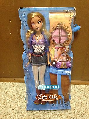 Barbie My Scene Cafe Chic Kennedy Doll New Rare