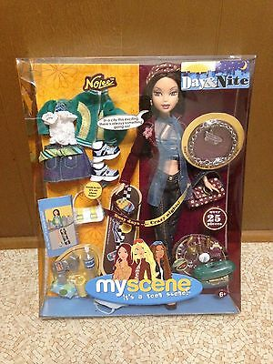 Barbie My Scene Day & Nite Nolee Doll New Rare