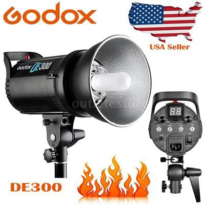 Godox DE300 300W GN58 Photography Studio Professional Strobe Flash Lamp Light US