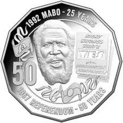 2017 50 cent PRIDE & PASSION Mabo 50C coin UNC from  Mint Bag