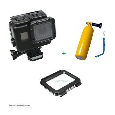 Black 45M Waterproof Protective Housing Diving Case Underwater for GoProHD Hero6