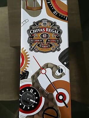 Chivas regal aged 12 whisky Bremont watch company limited edition tin with lid
