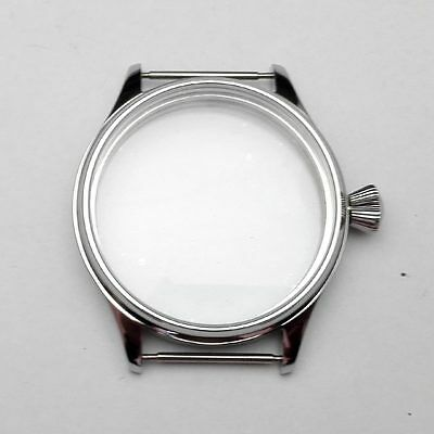 Corgeut Case Stainless Steel Fit 6497/6498 movement Men Sports Watch 43mm