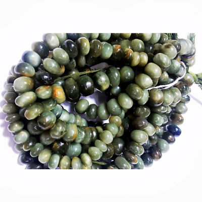 Cats Eye Rondelle Gemstones Beads 8mm Beads 18 Pieces Approx