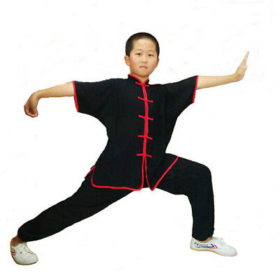 CHINESE WUSHU MARTIAL Arts Uniforms 100% Cotton Kung Fu Suit Kids & Adults  Suits
