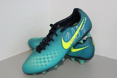 Shane Long Worn and Signed Boots Southampton FC