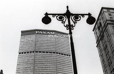 Original 35 mm B&W Negative of Pan Am Building in New York City