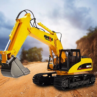 1/12 RC Excavator Digger 15 Channel Remote Control Car Tractor Vehicle Truck Toy