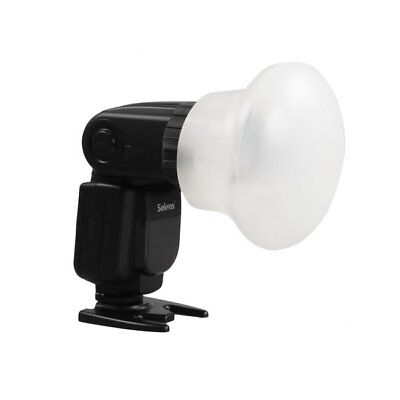 GS Selens Magnetic Flash Modifier Sphere Diffuser Bounce + Rubber Band Kit