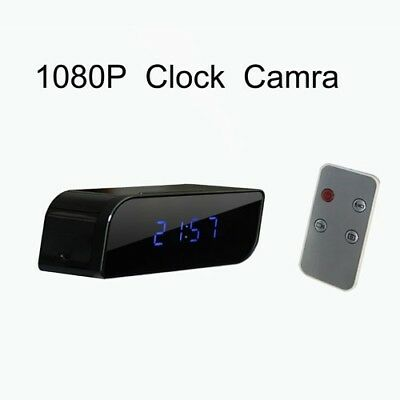 HD 1080P Clock Hidden Spy Camera Can Take Photo And Video And Motion Detection