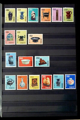 Taiwan 1961-1962  Art  6 Complete Sets  Mnh ** Very Fine