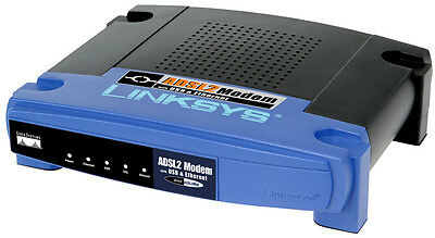 Internet - Modem Linksys Adsl2Mue - Usb & Ethernet